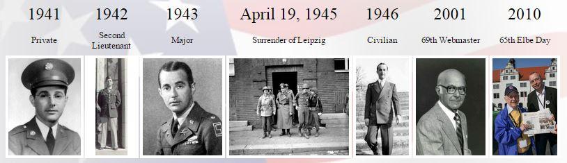 Joe Lipsius, Military Career, Timeline
